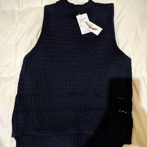 NWT Jessica Simpson Alexia Cropped Sweater Vest